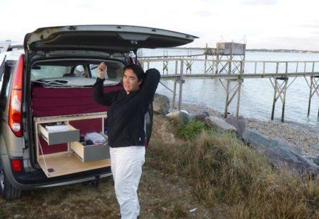Témoignage - Nomade dans un Kangoo - Campinbox