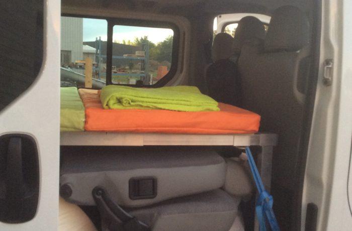 campinbox-Voyageur rehaussée dans Trafic avec banquette arrière-3