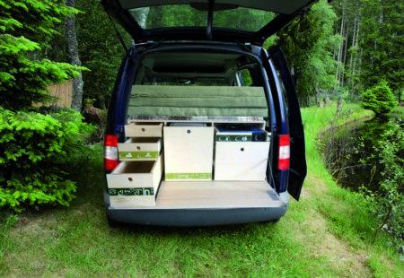 Modèle Aventure - Volkswagen Caddy - Campinbox