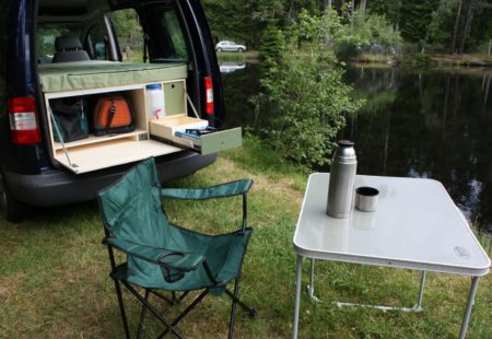 Modèle Baroudeur - Volkswaggen Caddy - Campinbox