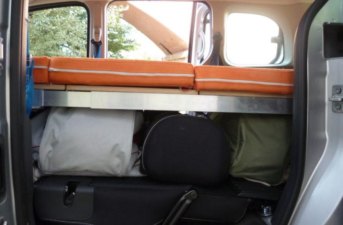 campinbox-modèle Evasion dans kangoo