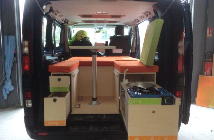 campinbox-modèle Evasion plus dans un Expert