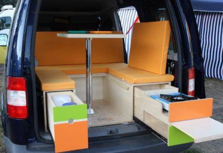 Modèle Evasion - Volkswagen Caddy - Campinbox