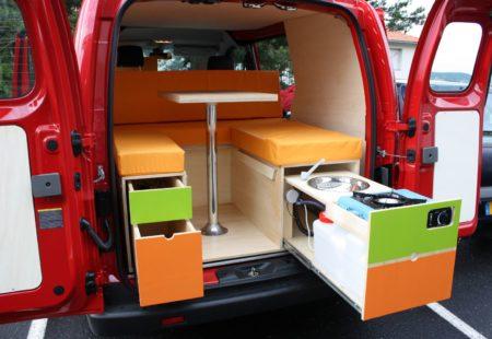Modèle Evasion Plus - Nissan NV200 - Campinbox