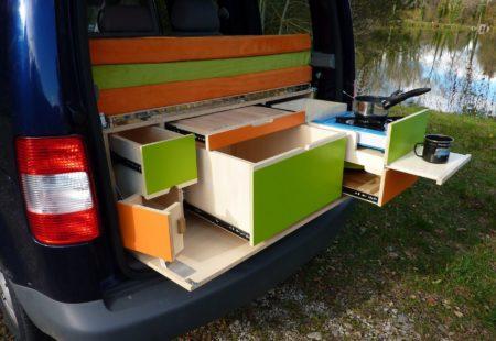 Modèle Globe Trotter - Volkswagen Caddy - Campinbox