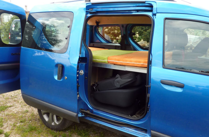 campinbox-Modèle Voyageur dans Dacia Dokker -2