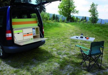Modèle Nomade - Volkswagen Caddy - Campinbox