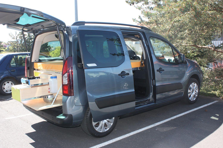 Aménagement de votre Berlingo en mini camping-car