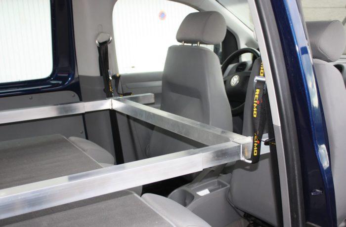 Structure aluminium pour box - couchage - Campinbox