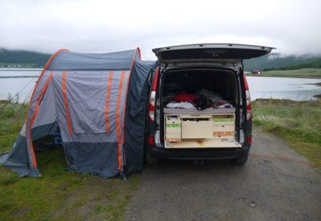 Campinbox - Box Globe Trotter dans un Kangoo