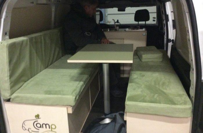 campinbox-aménagement berlingo XL en camping car