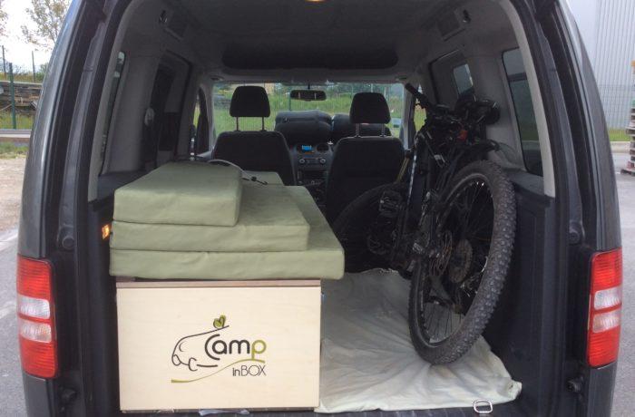 Campinbox - Aménagement Volkswagen Caddy sur-mesure