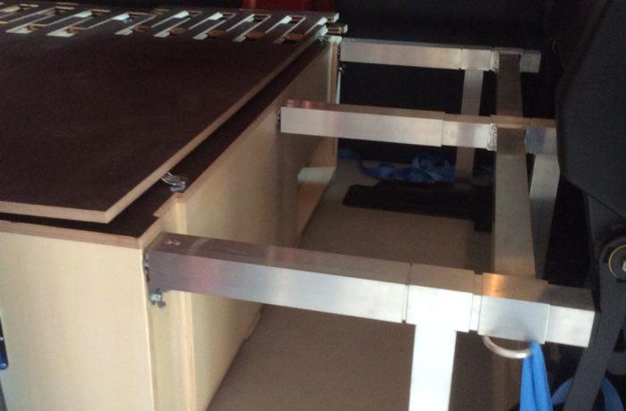 Aménagement Expert cabine approfondie et tiroir glacière à compression